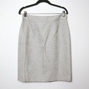 Banana Republic | Linen Blend Lined Skirt 8